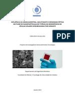 Relatorio 1 Celulas Fotovoltaicas Titania IR