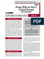 CIP16-Flexural Strenght of Concrete