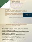 Strategic Management PPTs Unit 1 & 2
