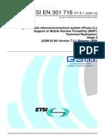 Gsm 03.66 (Srf for Mnp)