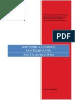 Curs Doctrine Economice