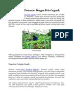 Budidaya Pertanian Dengan Pola Organik