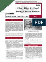 CIP02-Scaling Concrete Surfaces