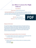 lesson plan micro for high school