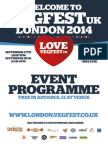 VegFest London Programme