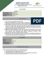 Course Profile _MATH112