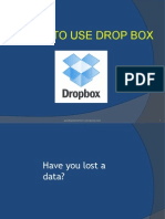 What is a Drop box?