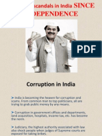 Scams and Scandals in India SINCE INDEPENDENCE