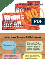 Upaya Penegakan HAM di Indonesia