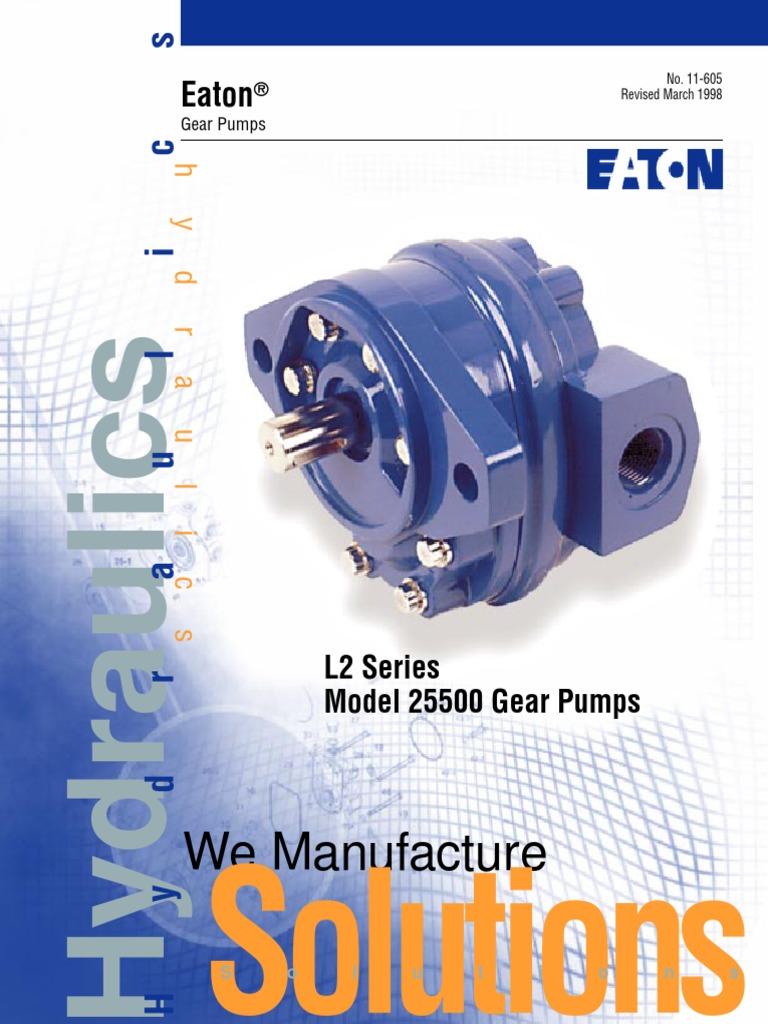 Eaton Gear Pumps | Pump | Gear