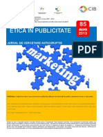 85 - Etica in Publicitate