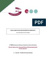494903_Social Innovation and Deliberative Democracy