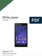 Whitepaper en d5102 d5103 d5106 Xperia T3