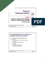 EG - Fisica I - GIERM - Tema 2 - Vectores Libres - 12-13