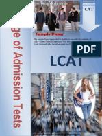 LCAT Sample Pattern