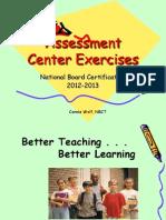 Exercises AssessmentCenter