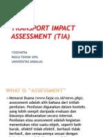transport impact assesment