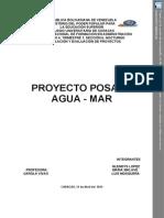Proyecto Posada Agua - Mar