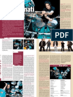Virgil Donati Feature Drumscene Magazine 2010