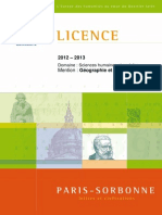 Brochure 2012-2013 Licence Geographie Et Amenagement 2012-08-29