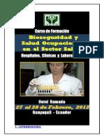 Curso Administracion de Bioseguridad Sector Salud_guayaquil