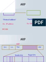 Details of ARP and PPP
