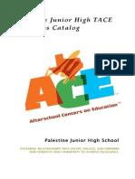 ace activities catalog