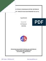 Proteksi Dan Teknik Keamanan Sistem Informasi