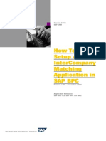 InterCompany Matching Application in BPC