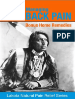 Managing Back Pain With BONUS Home Remedies - Lakota Natural Pain Relief