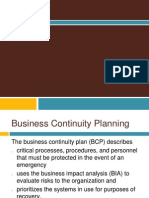 Business Continuity Planning & Disaster Recovery Planning Presentation_v1