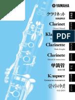 Mantenimiento Clarinete Yamaha