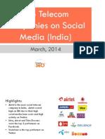indiantelecomindustryreportonsocialmediamarch2014-140403010143-phpapp01