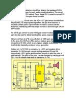 Gas Leakege Sensor