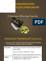 3. Factors Affecting Toxicity