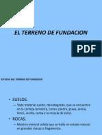 2 Estudio Del Terreno de Fundacion