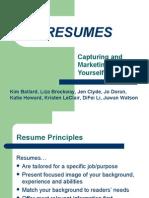 Basic Resume Workshop