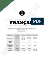 III.1 - Le Français