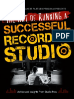 @ the Art of Running a Successful Recording Studio
