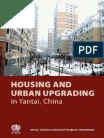 Housing and Urban Upgrading in Yantai, China