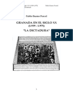 GRANADA EN EL SIGLO XX (1.939 - 1.975) LA DICTADURA