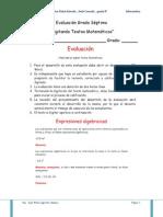 Digitacion de Textos Matematicos