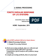 Finite Impulse Response of LTI Systems