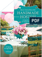 Handmade Hostess 12 Imaginative Party Ideas for Unforgettable Entertaining 36 Sewing Craft Project