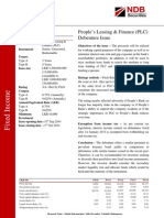 PLC - Debenture Issue