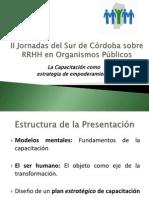II Jornadas Del Sur de Córdoba Sobre RRHH