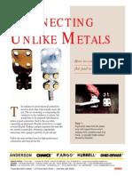 Connecting Unlike Metals