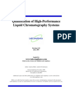 Qualification of HPLC