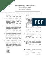 Surandino 2014 Segundo de Primaria