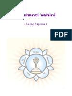 Prashanti Vahini ( La Paz Suprema ) Sathya Sai Baba